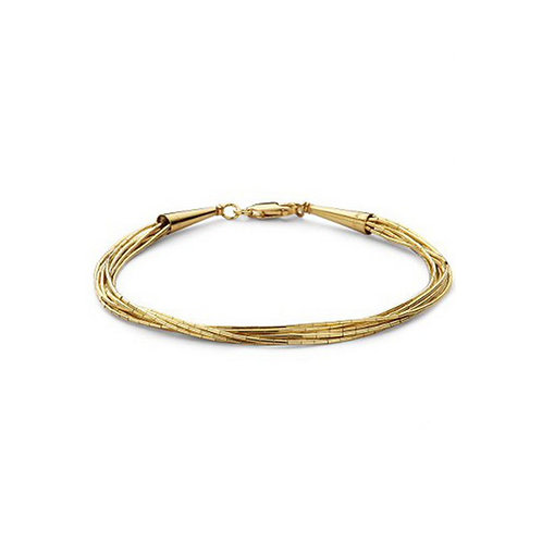 Casa armband SPAGHETTI 10 GOLD AB