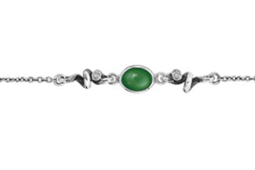 Rabinovich Glamorous Green Armband