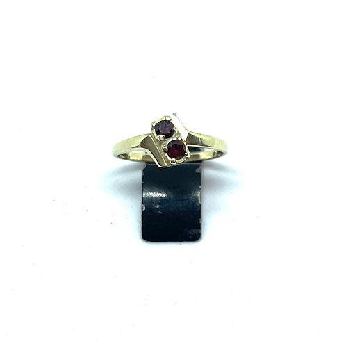 VERKOCHT / Vintage ring 45