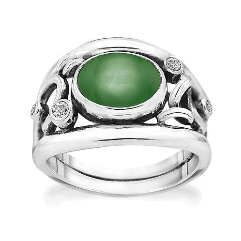 Rabinovich Glamorous Green Ring