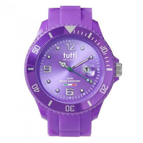 Tuttie Milano dames horloge TM001 paars