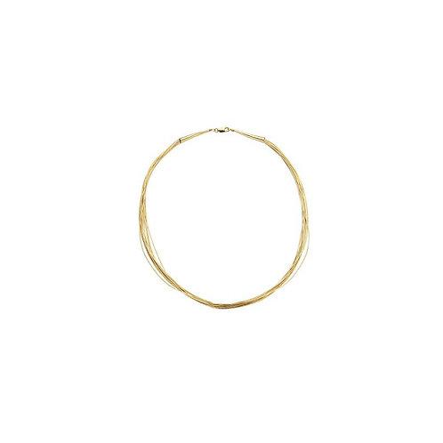 Casa collier SPAGHETTI 10 GOLD CL