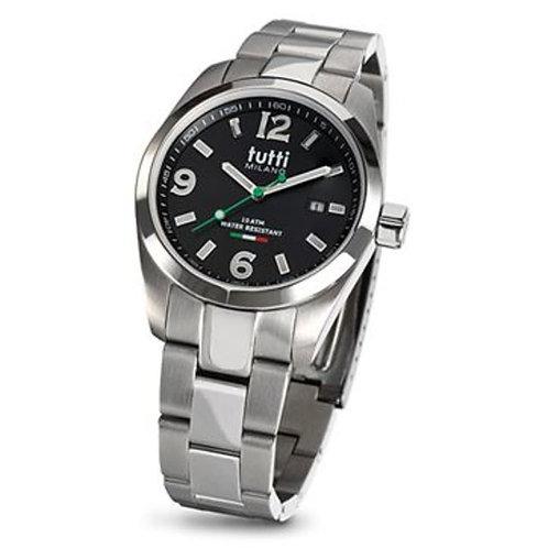 Tuttie Milano horloge TM800 zwart