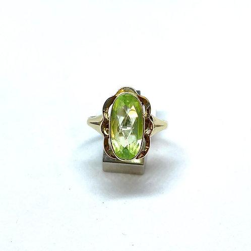 VERKOCHT / Vintage ring 34