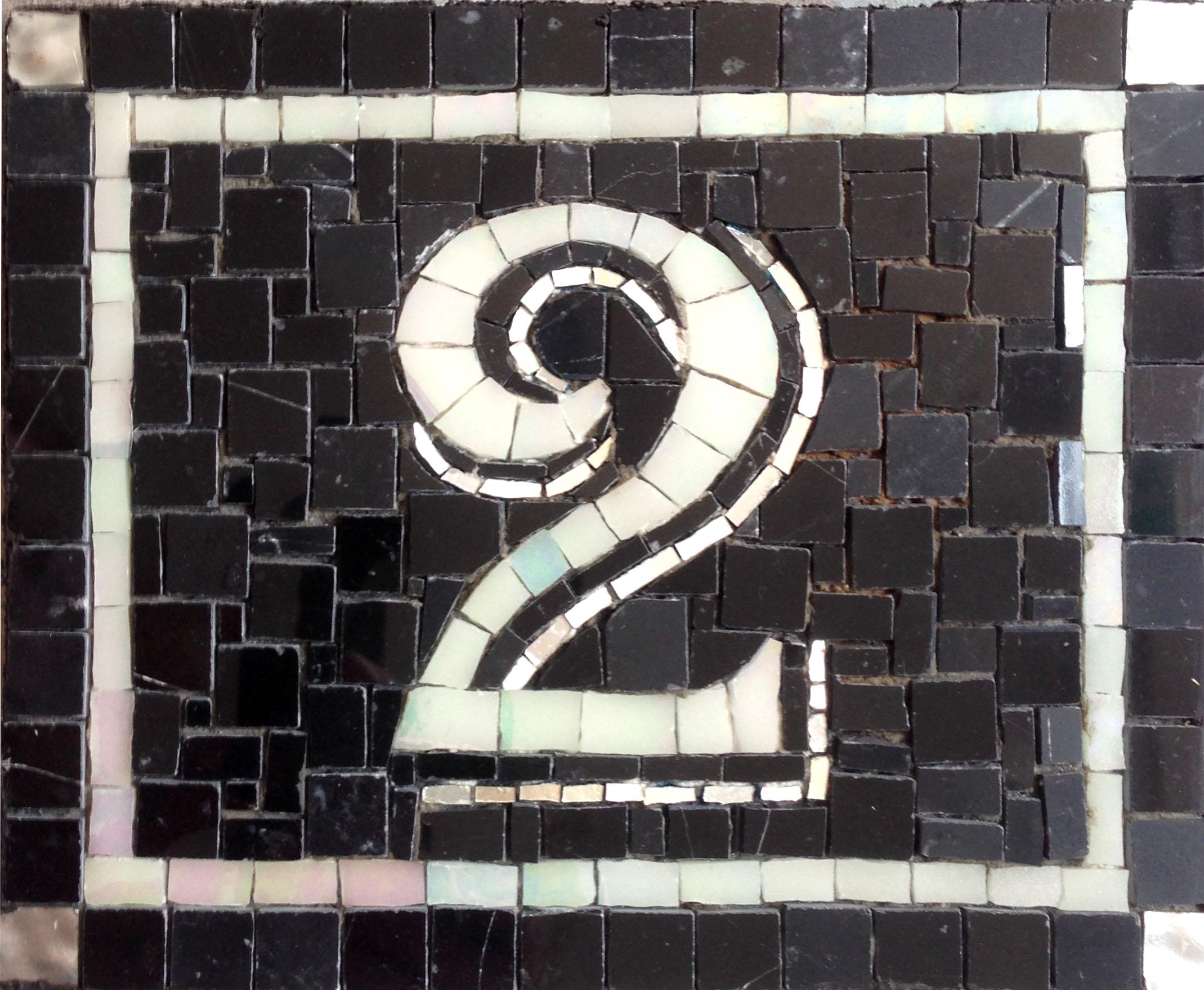 numero 2 mosaïque