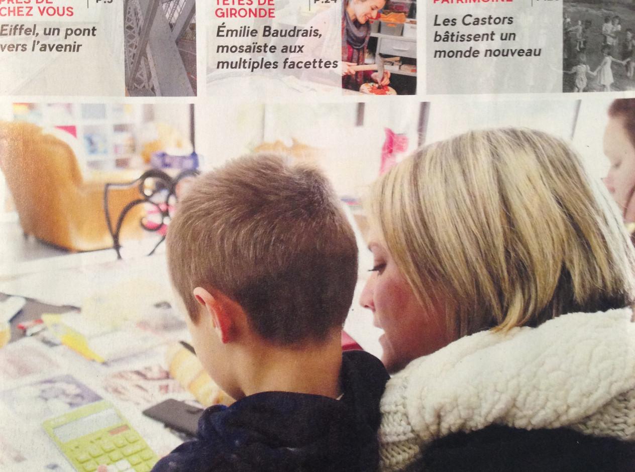Super article dans Gironde Mag Avril 2018!!
