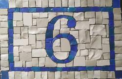 numero 6 mosaïque