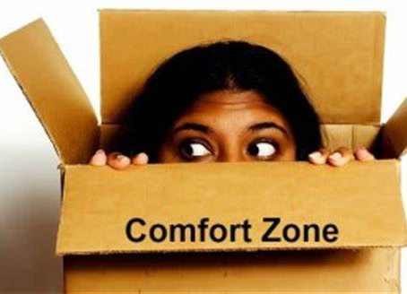 Being a leader means leaving your comfort zone