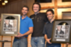 Brent Wilson, Blake Samperi, Josh Masters, Deconstructed Album Completion Party