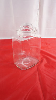 Candy Glass Jar With Lid