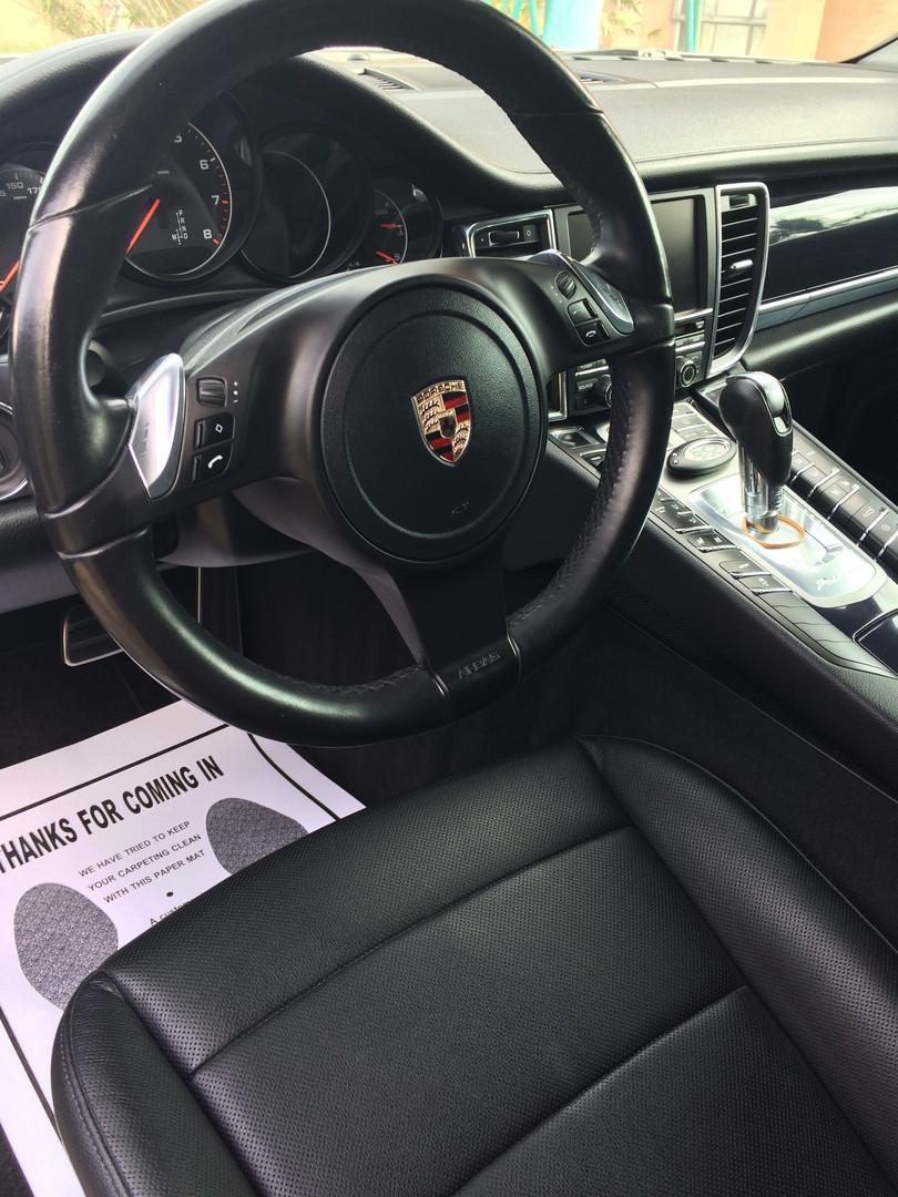 Porsche Panamera detail
