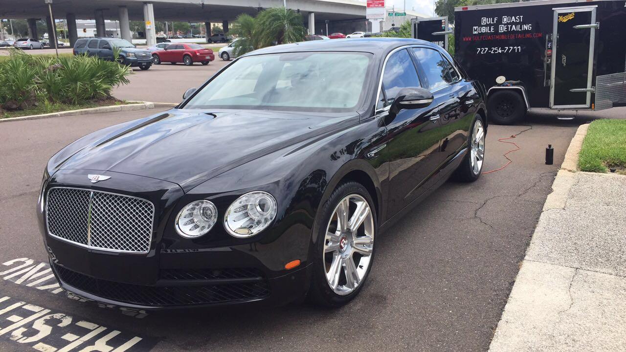 Bentley detailer