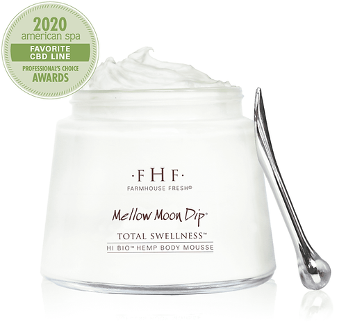 Mellow Moon Dip® Hi-Bio® Hemp Relaxation Body Mousse