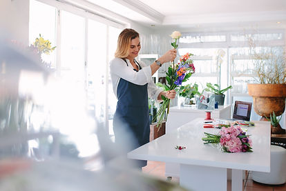 Canva - Female Florist Creating Order.jp