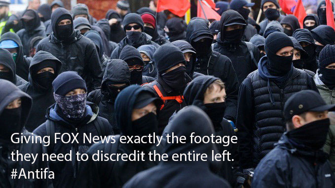 Chomsky is Right. Antifa is Exactly What the Right Needs to Discredit the Left.