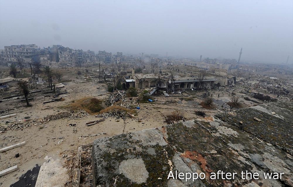 Aleppo, Dec 2019. Photo: Omar Sanadiki
