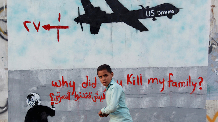 "Using Drones for ""Targeted Killings"" is Cowardly Terrorism and all it Does is Increase Ter"