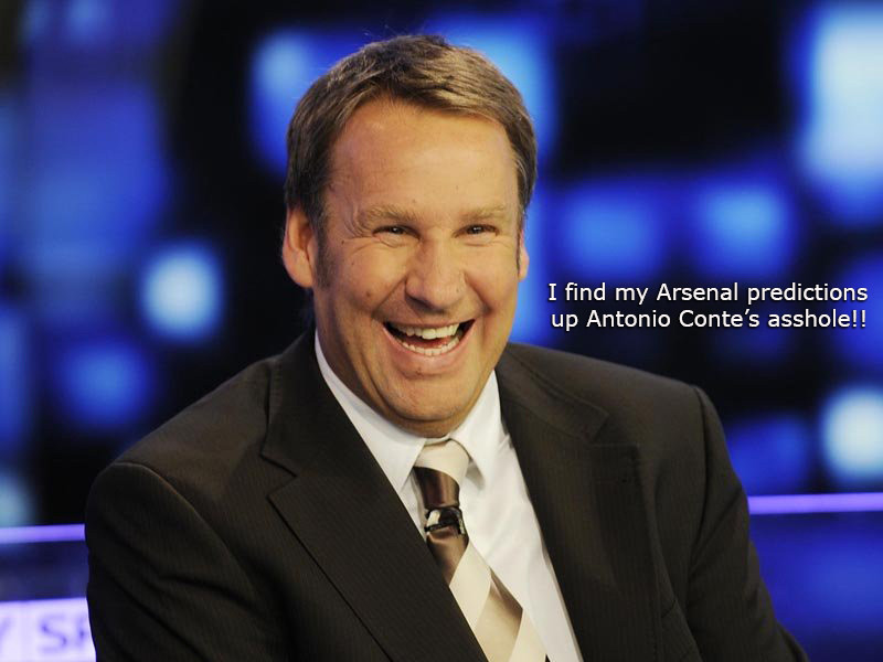 Merson spends a lot of time there, apparently