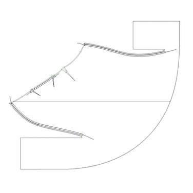 "concept 3 ""ONE-PIECE-OF-CLOTH"" Bias-cut Skirt_05"