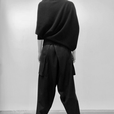 """concept 4 """"TWO-PIECE-OF-CLOTH"""" Pants_02"""