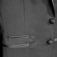 Tuxedo Pocket and Button Details