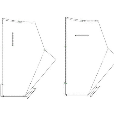 """concept 4 """"TWO-PIECE-OF-CLOTH"""" Pants_03"""