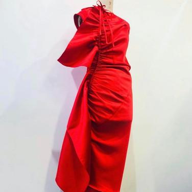 "concept 7 ""ONE-PIECE-OF-CLOTH"" Eveving Dress_02"