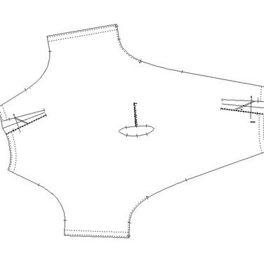 "concept 2 ""ONE-PIECE-OF CLOTH"" Twist-Drape Top_03"