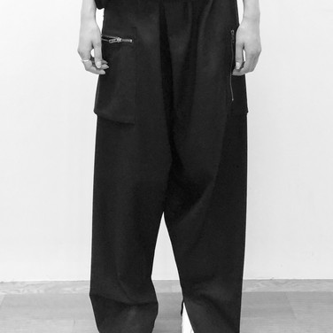 """concept 4 """"TWO-PIECE-OF-CLOTH"""" Pants_01"""