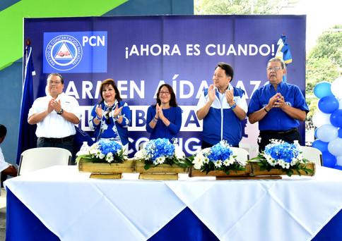 Bases del PCN de La Libertad respaldaron a Carmen Aída