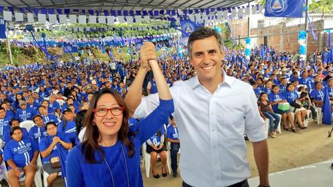 Bases y estructuras del PCN apoyan la fórmula presidencial de la Alianza por un Nuevo País. #Cuscatl