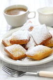 homemade new orleans beignet donuts with