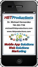 HBT Productions Business Card