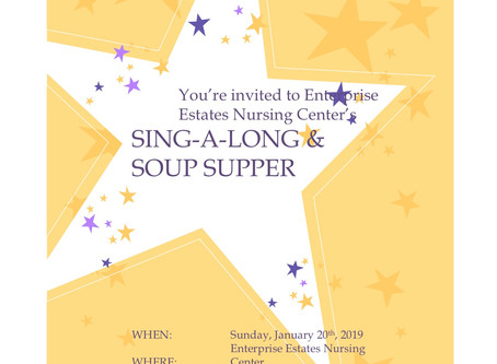 Sing Soup Supper