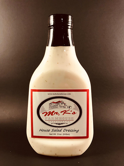 Mr K's House Salad Dressing 31oz - 6 Pack