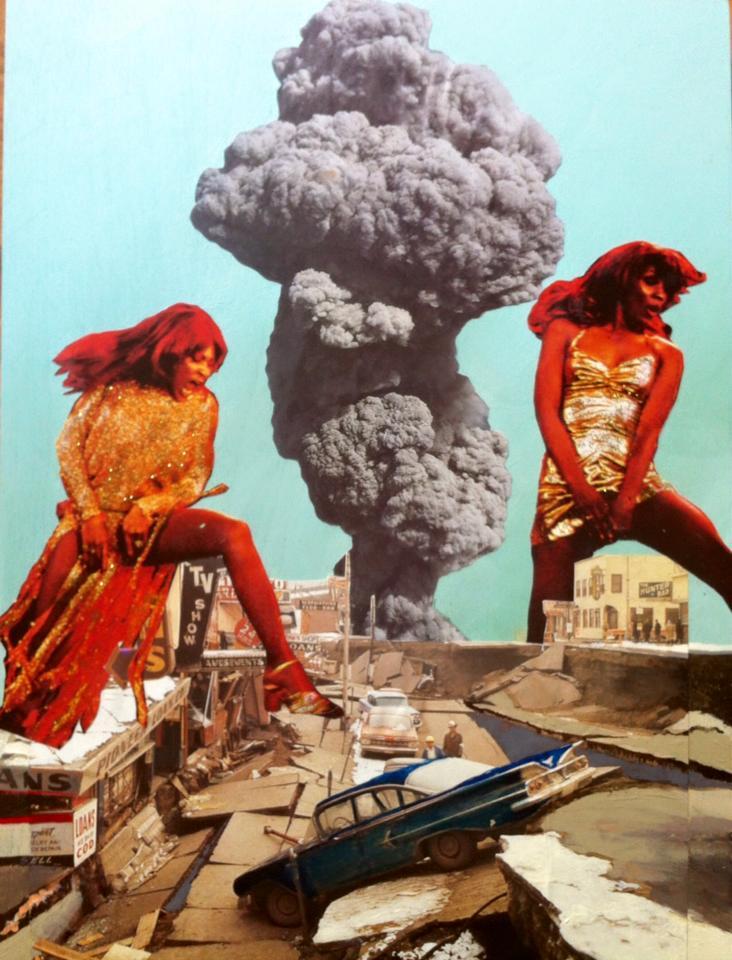 Tina&Ikette destroying Nut Bush City
