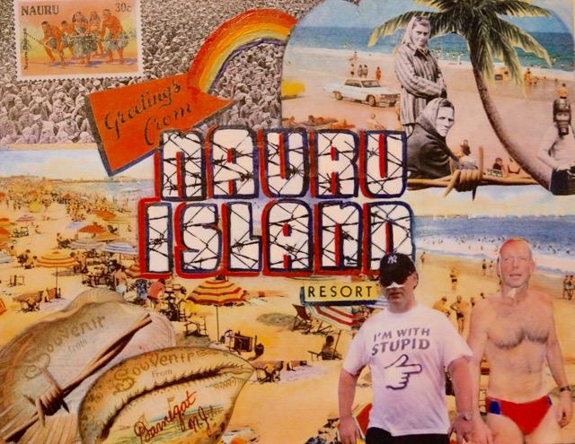 Greeting from Nauru Island Resort