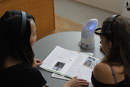 Social Lamp user testing