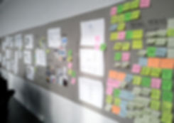 User Research board with all the insights