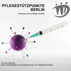 Corona-Impfung: Neue Anlaufstelle für Kontaktpersonen von Pflegebedürftigen