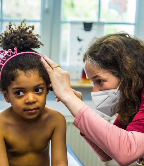Allgemeinpädiatrische Untersuchung