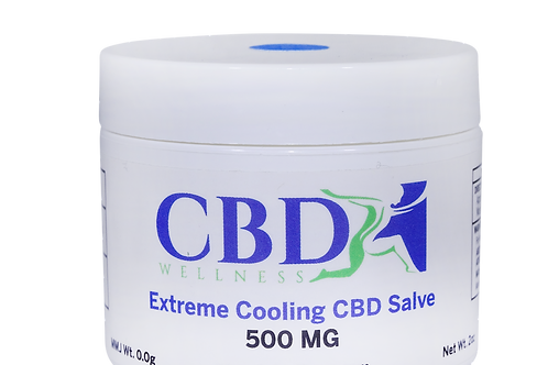 500mg Cooling Topical Salve (2oz)