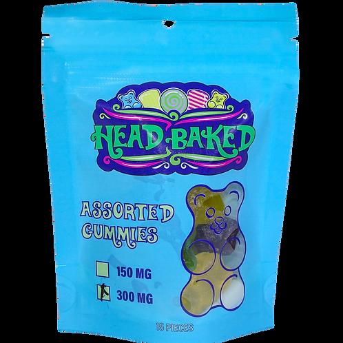 Head Baked 300mg CBD Assorted Gummies