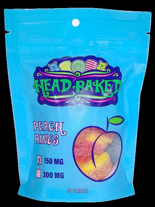 Head Baked 150mg CBD Peach Rings