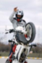 cengiz coşkun motosiklet dublör