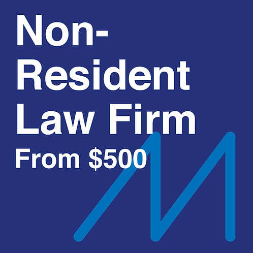 Non-Resident Law Firm