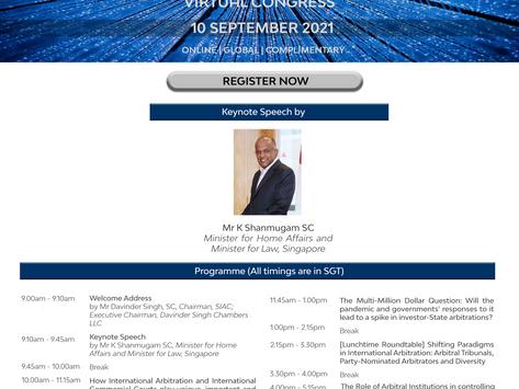 SIAC Virtual Congress 2021