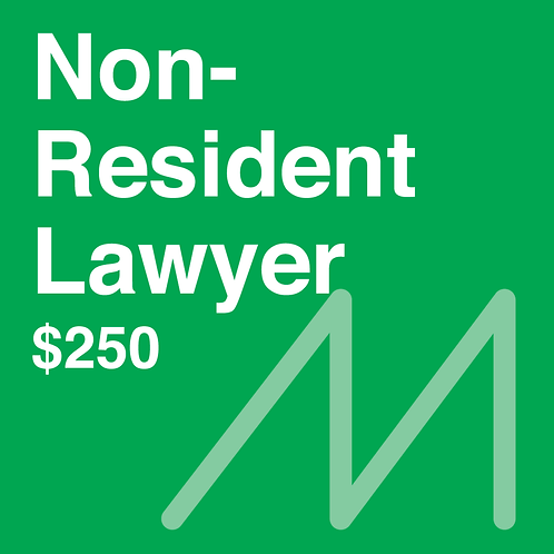 Non-Resident Lawyer