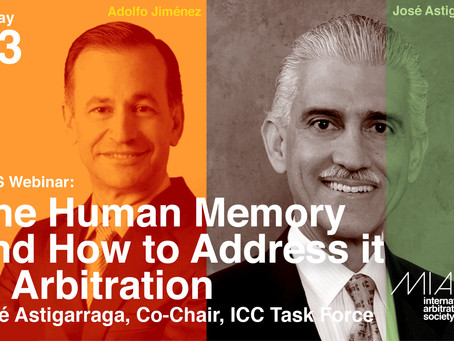 MIAS Webinar: The Human Memory and How to Address it in Arbitration