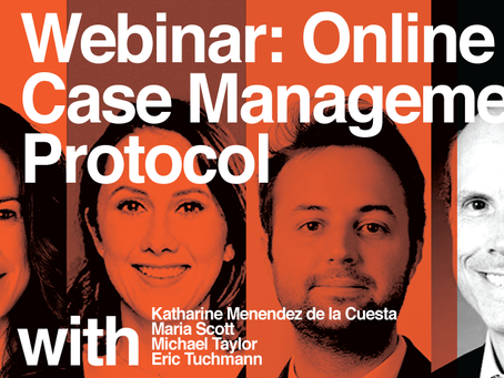 August Webinar: Online Case Management Protocol